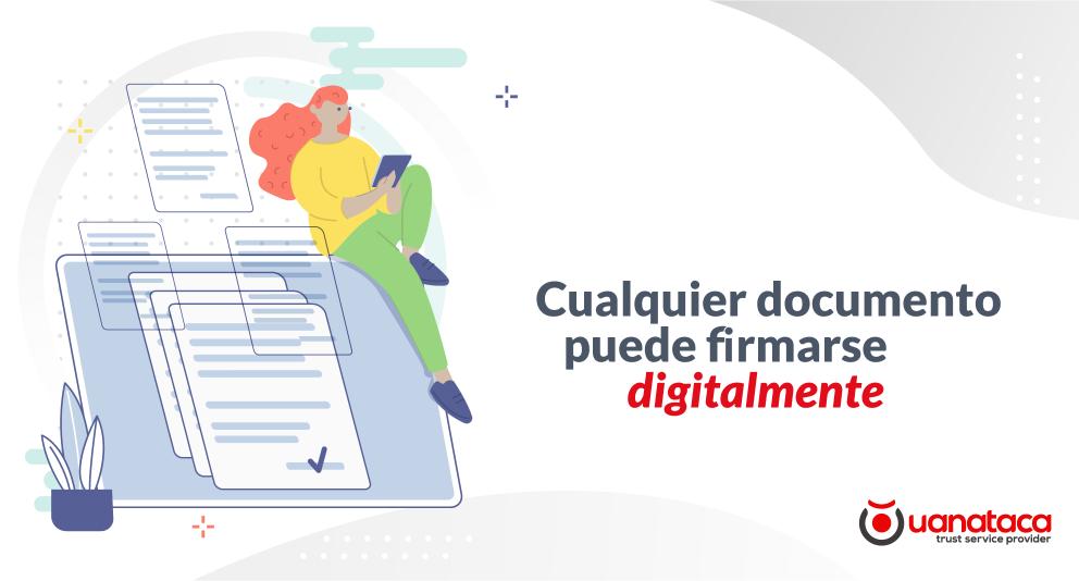¿Para qué tipo de documentos se usa la firma digital?