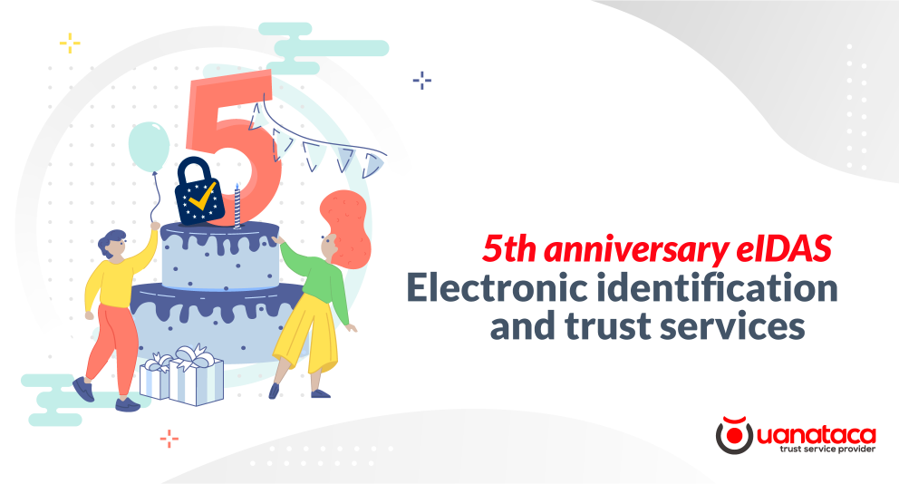 5th anniversary eIDAS: the regulation of electronic identification and trust services in Europe