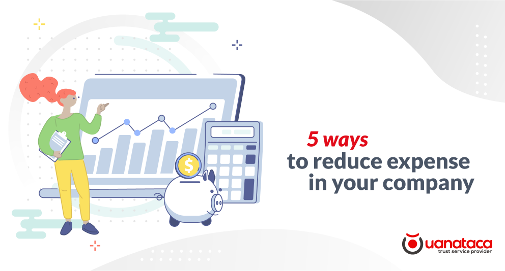 5 ways to reduce expenses in your company