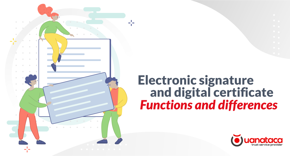 Electronic signature and digital certificate, are both the same?